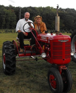 Two seater tractor